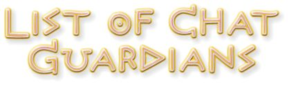 Chat Guardian List Title graphic