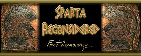 Sparta Reconsidered Democracy title